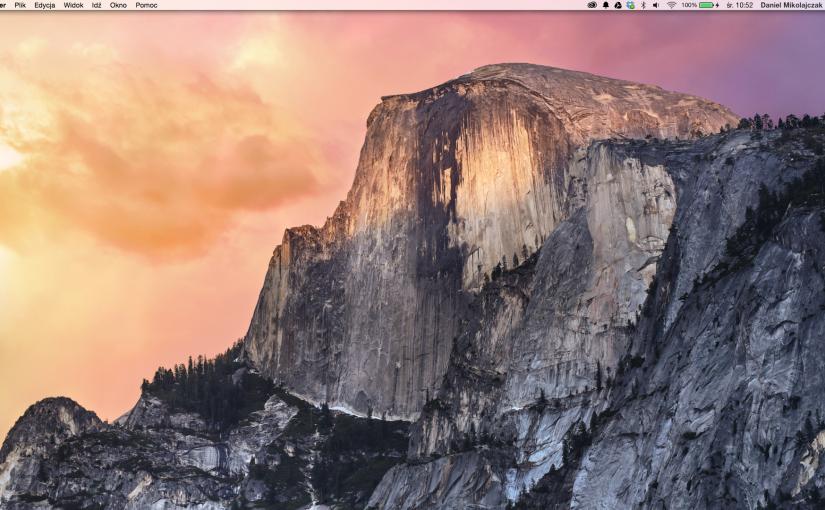 """OS X 10.10 """"Yosemite"""" DP, pierwsze starcie"""
